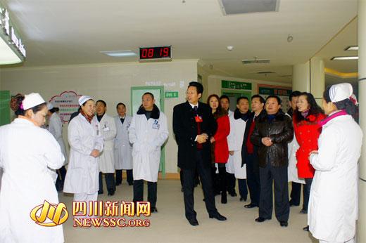 渠县人民医院 新环境 新气象 新台阶
