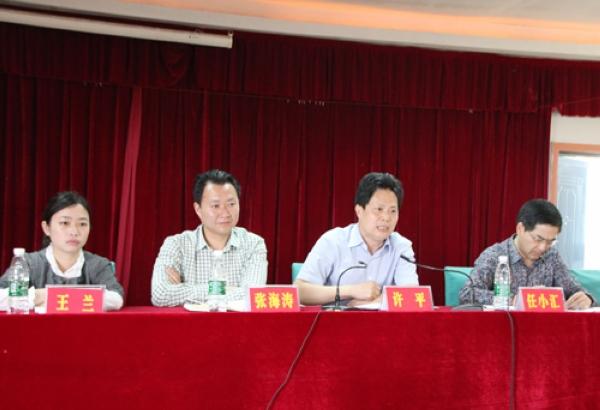 """县委第五宣讲分团赴土溪镇开展""""中国梦""""宣讲活动"""