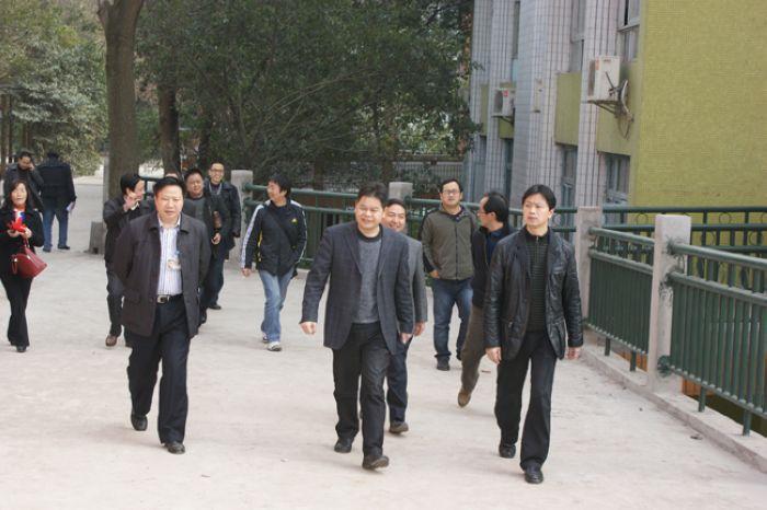 市教育局副局长杨忠国来渠县视察市第十二届中小 ...