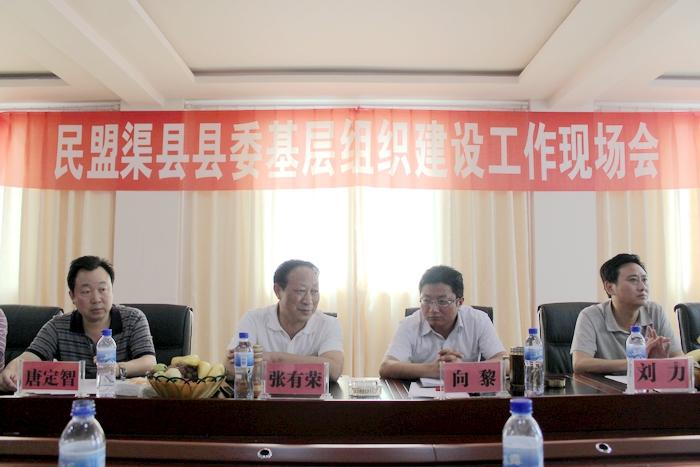 民盟渠县县委基层组织建设工作现场会近日召开-四川 ...